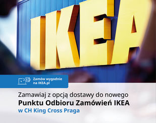 Punkt IKEA w CH King Cross Praga
